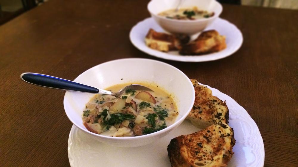 Tuscan Kale & Sausage Soup