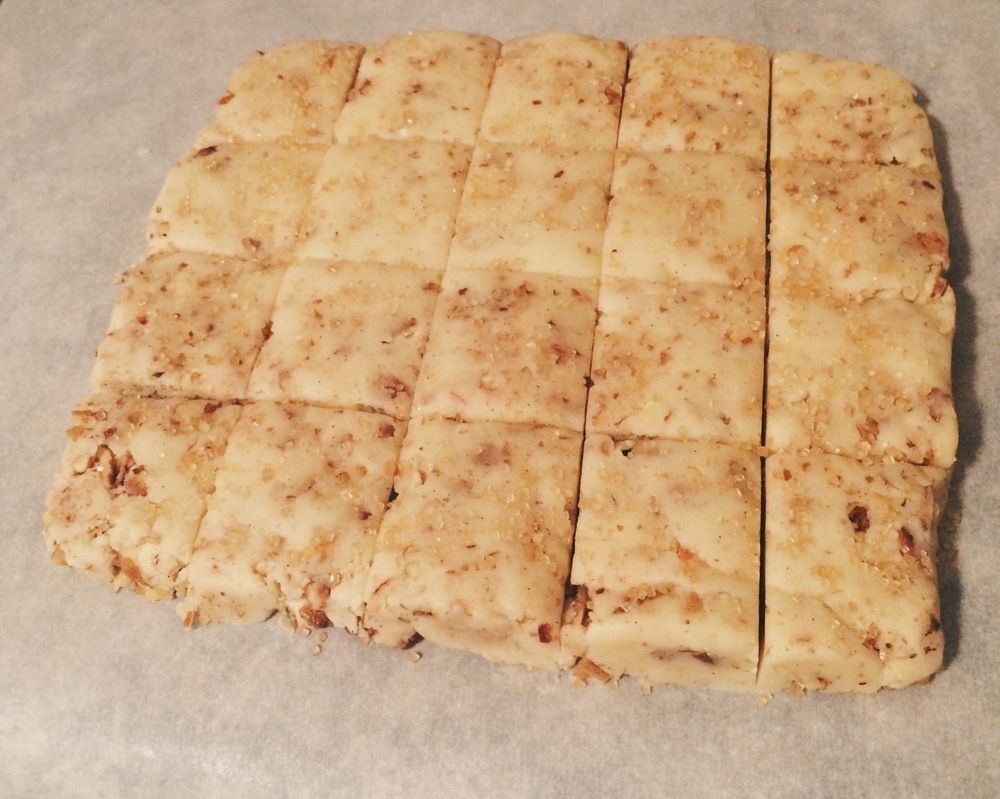Cut Shortbread