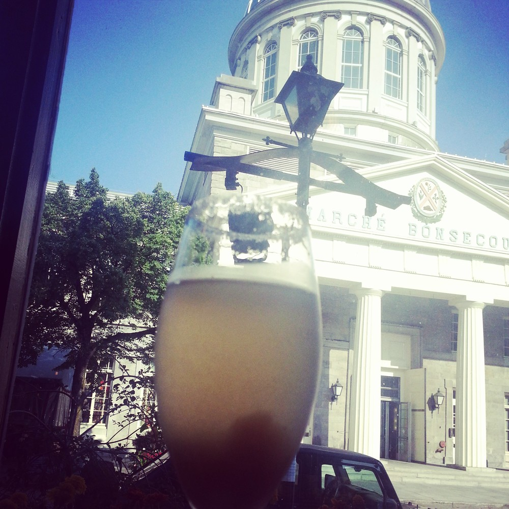 My bellini and my view.