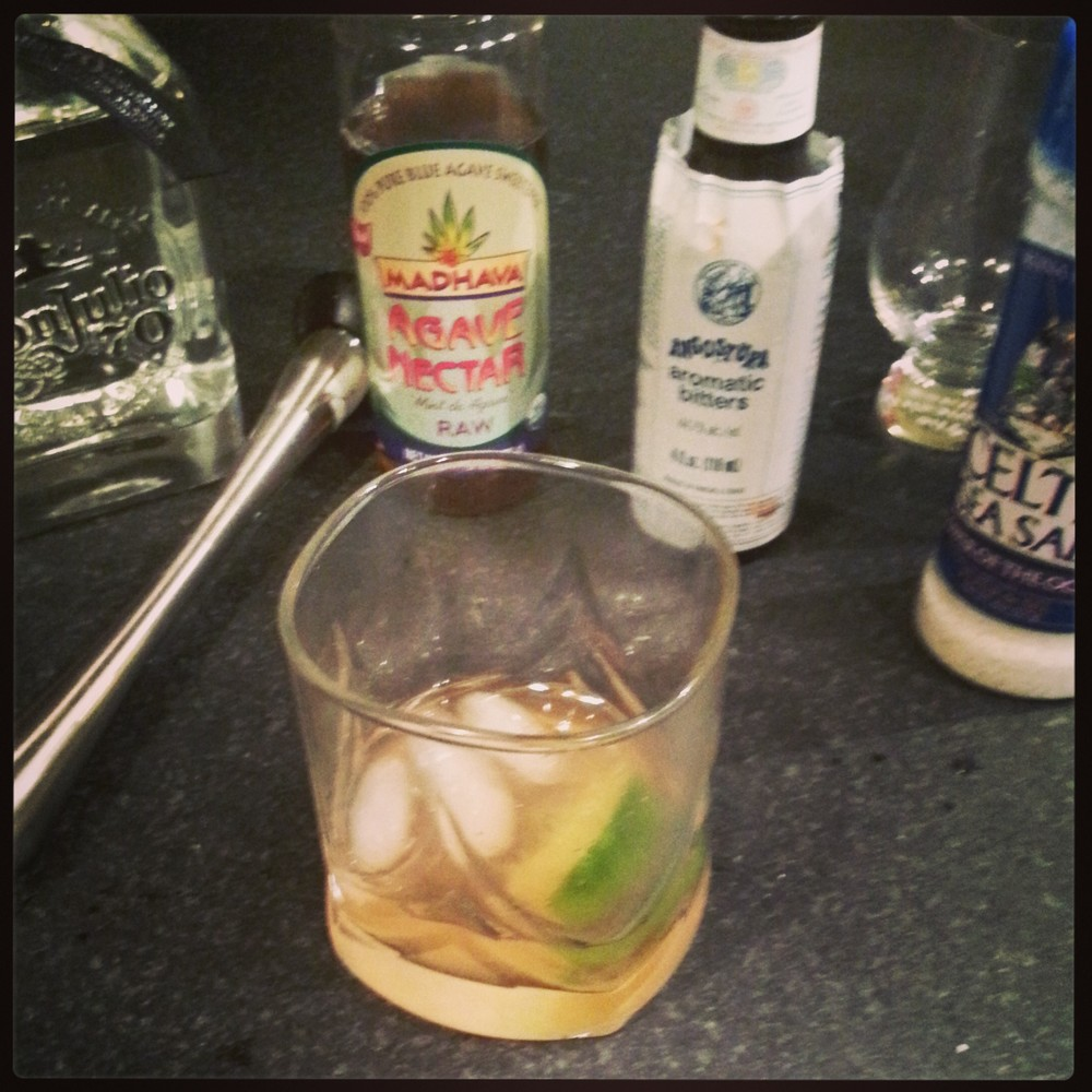 Tequila Old-Fashioned
