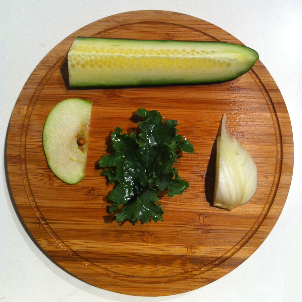 Skin Cure All juice recipe from Living Lotus Food & Nutrition: Fennel, Kale, Cucumber, Green Apple