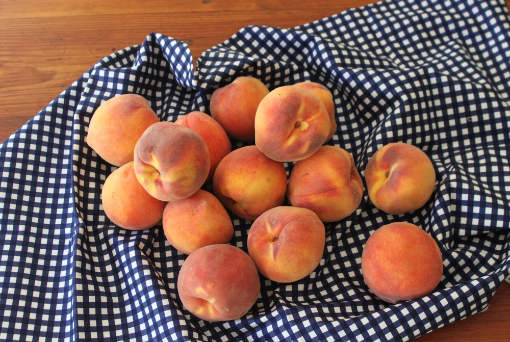 peaches - naturally gluten & dairy free