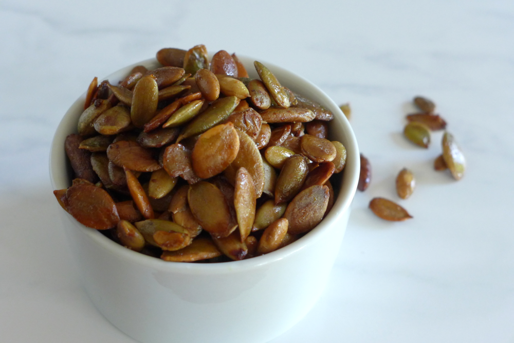 Maple Bacon Pumpkin Seeds Recipe Gluten-Free & Dairy-Free