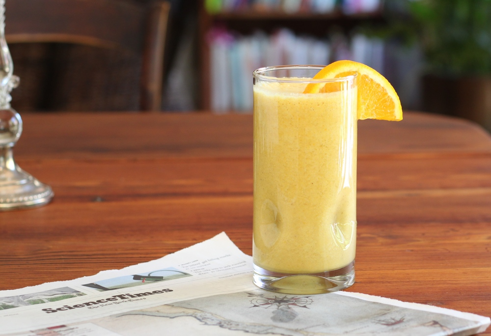 Turmeric Smoothie, Gluten-Free & Dairy-Free