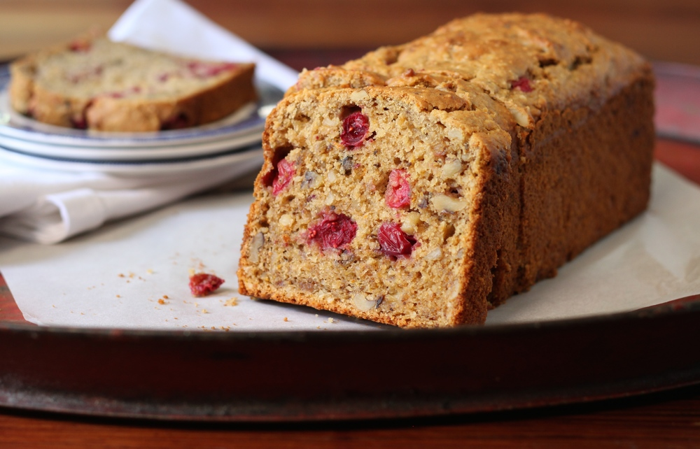 Gluten-Free Cranberry Bread (Dairy-Free)