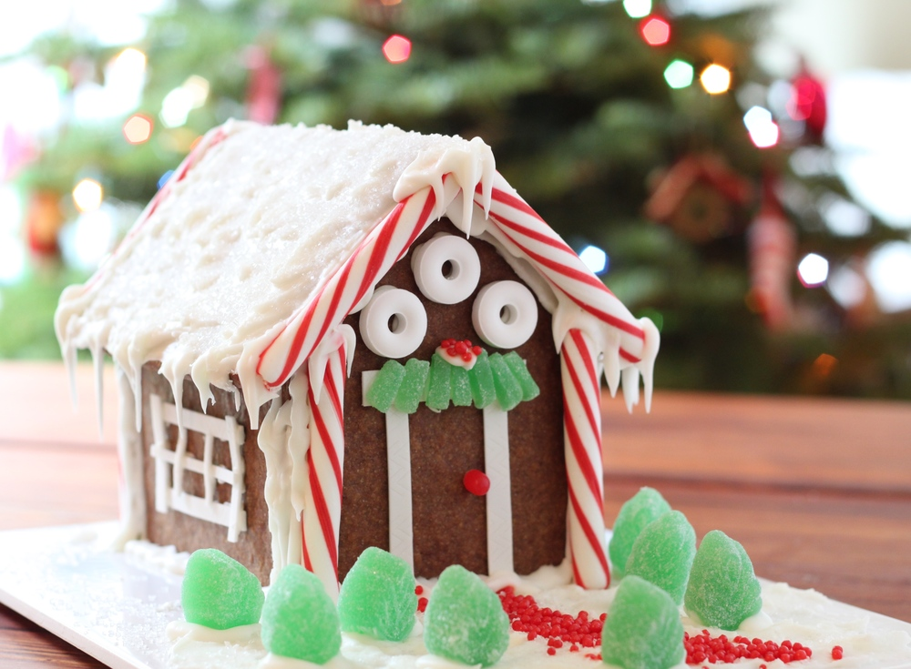 Gluten-Free Gingerbread House, Dairy-Free Too!