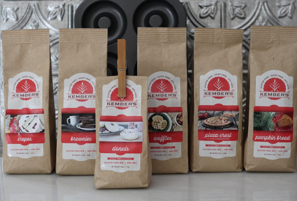 Kember's Gluten-Free Baking Mixes