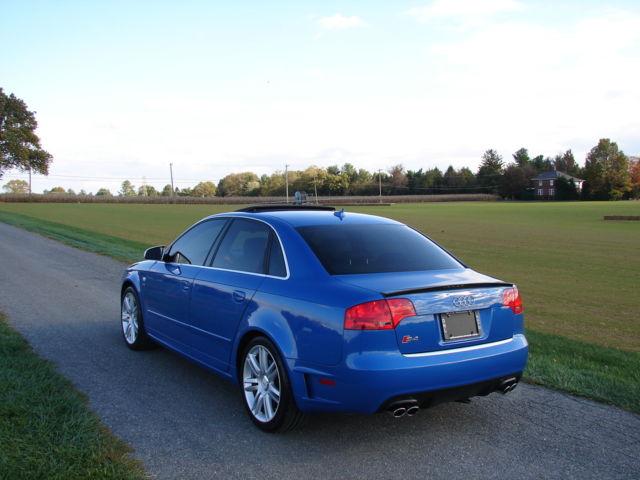 Sprint Blue Audi S DTM MT Niche Motoring - 2007 audi s4