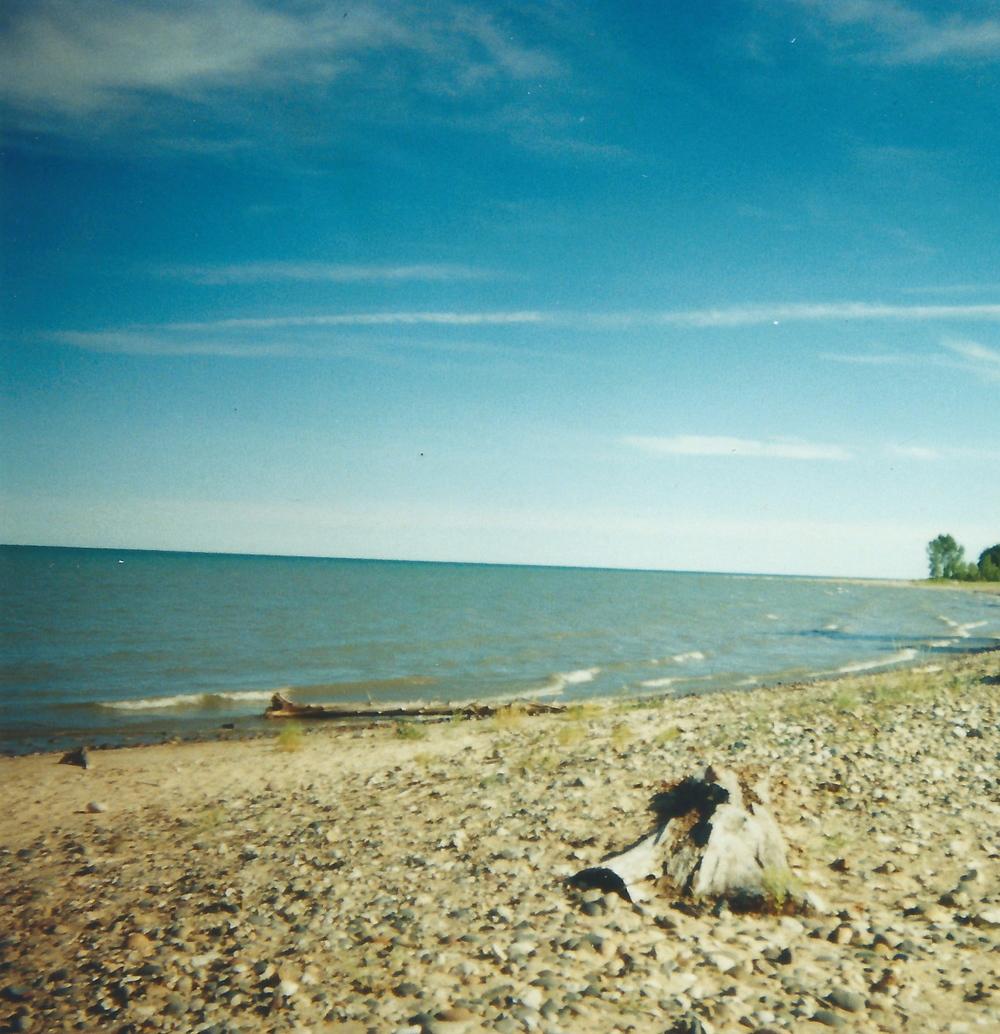 The shores of Lake Huron
