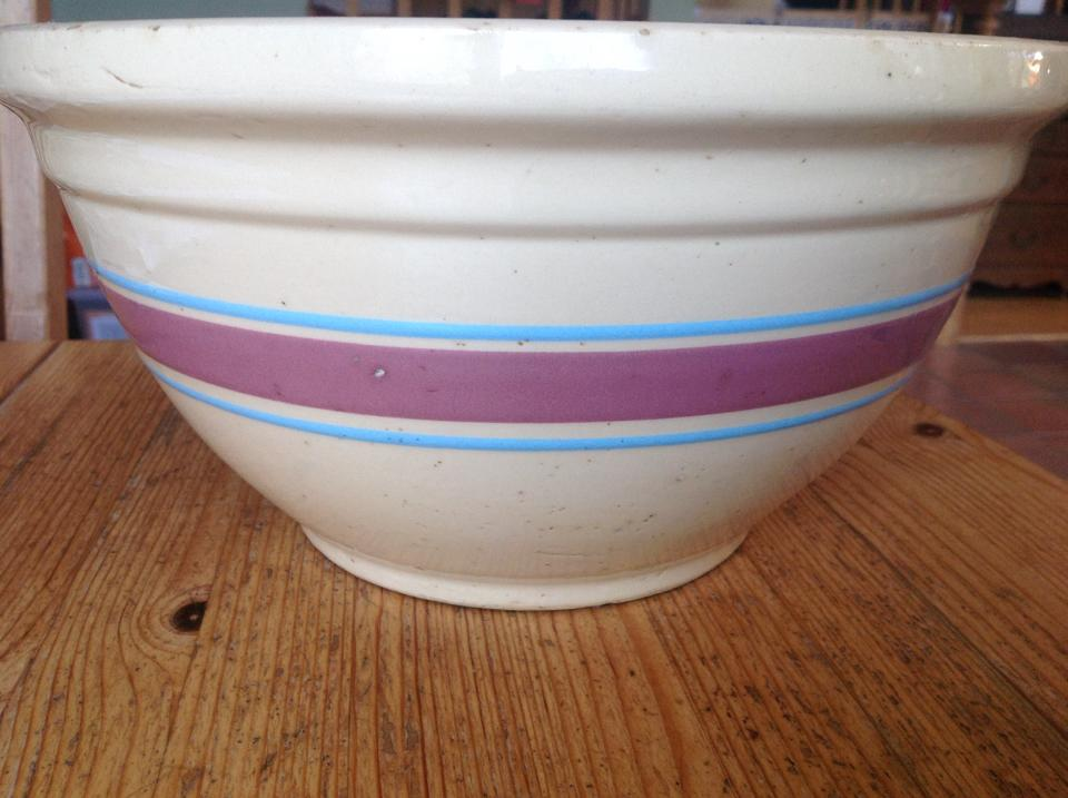 One of their mixing bowls
