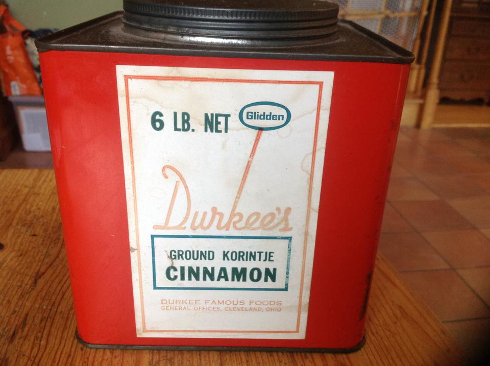 Wotton's cinnamon tin