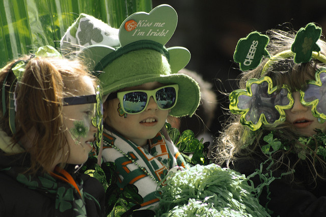 St. Patrick's Parade, Montreal, photo by jpmpinmontreal, CC 2.0