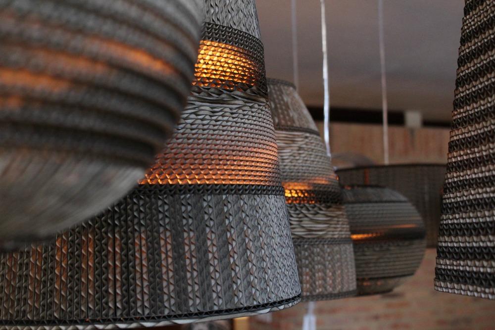Nuestras lámparas de Cartón