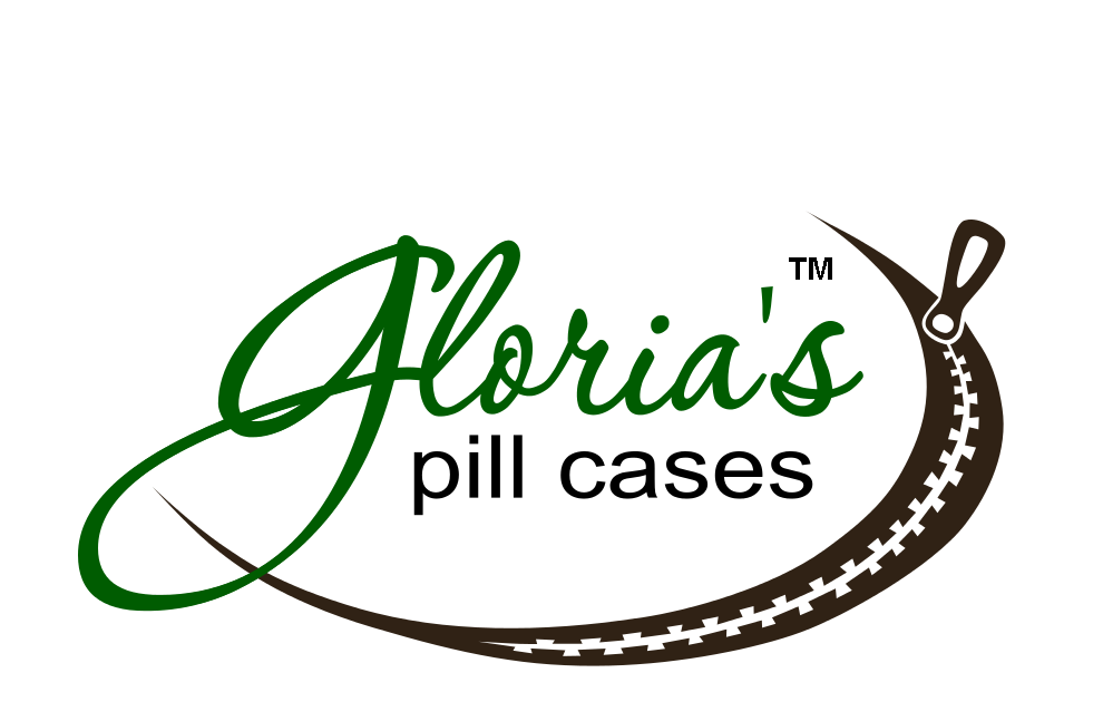 Gloria's Pill Cases | Zip-A-Round Travel Pill Case