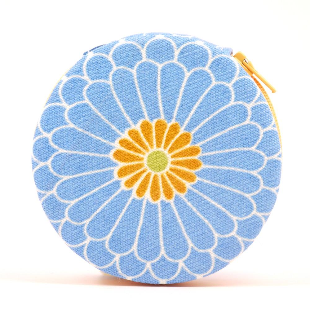 Blue Flower Daisy Pill Case