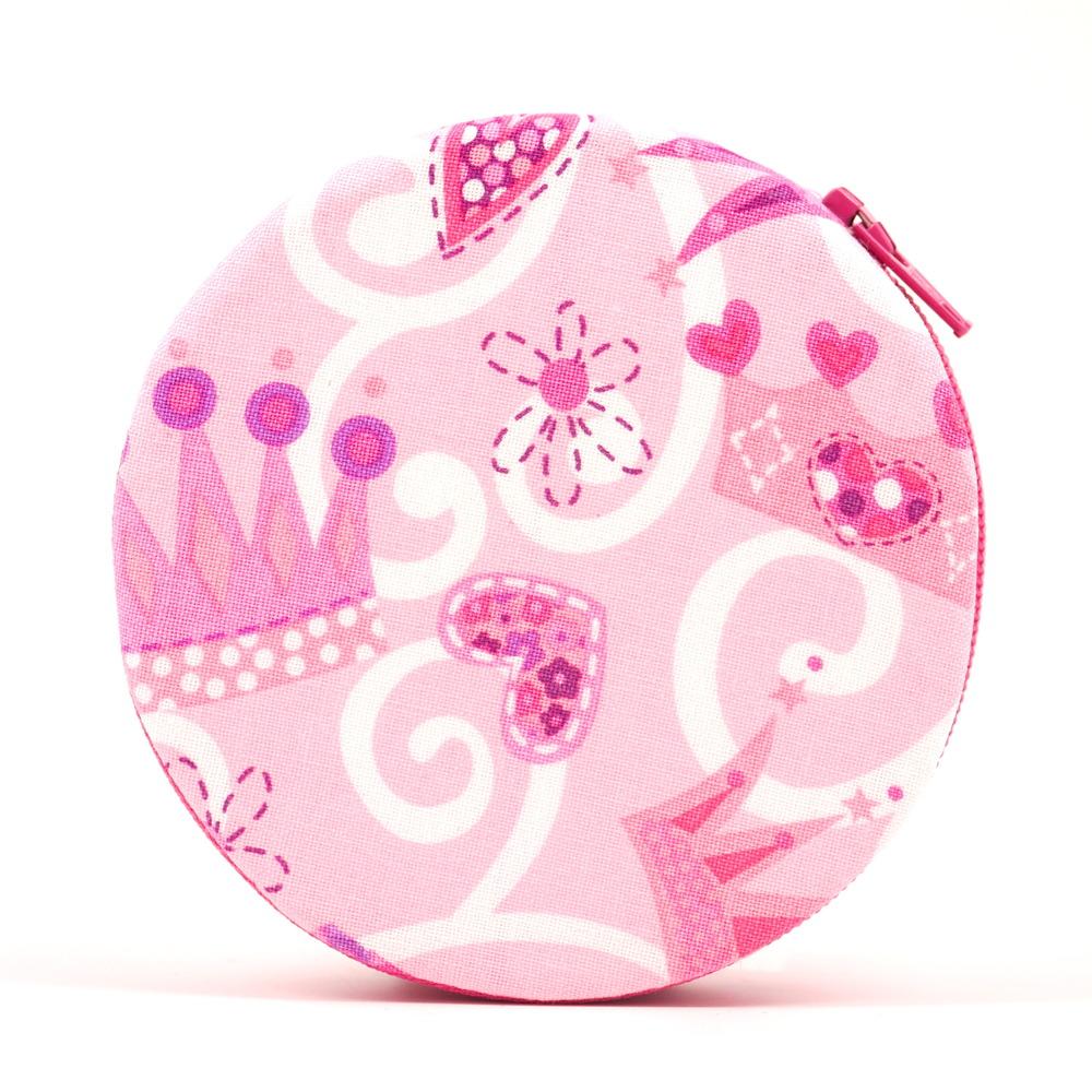 Pink Princess Themed Pill Organizer