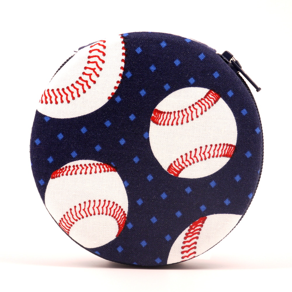 Baseball Print 7-day Pill organizer