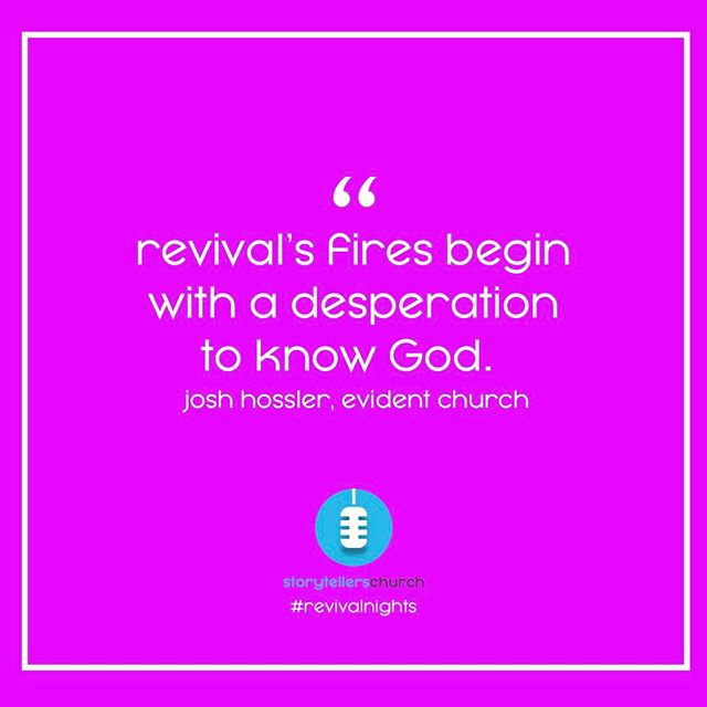 Amen! #revivalnights