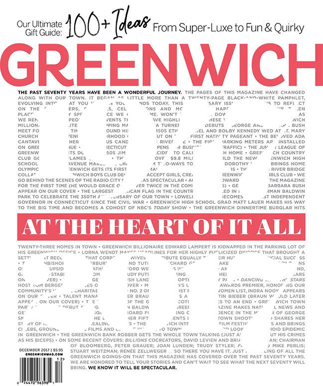 Greenwich Magazine - December 2017