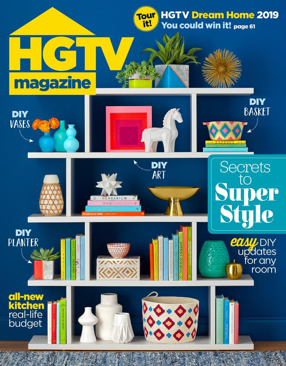 HGTV Magazine - Jan 2019