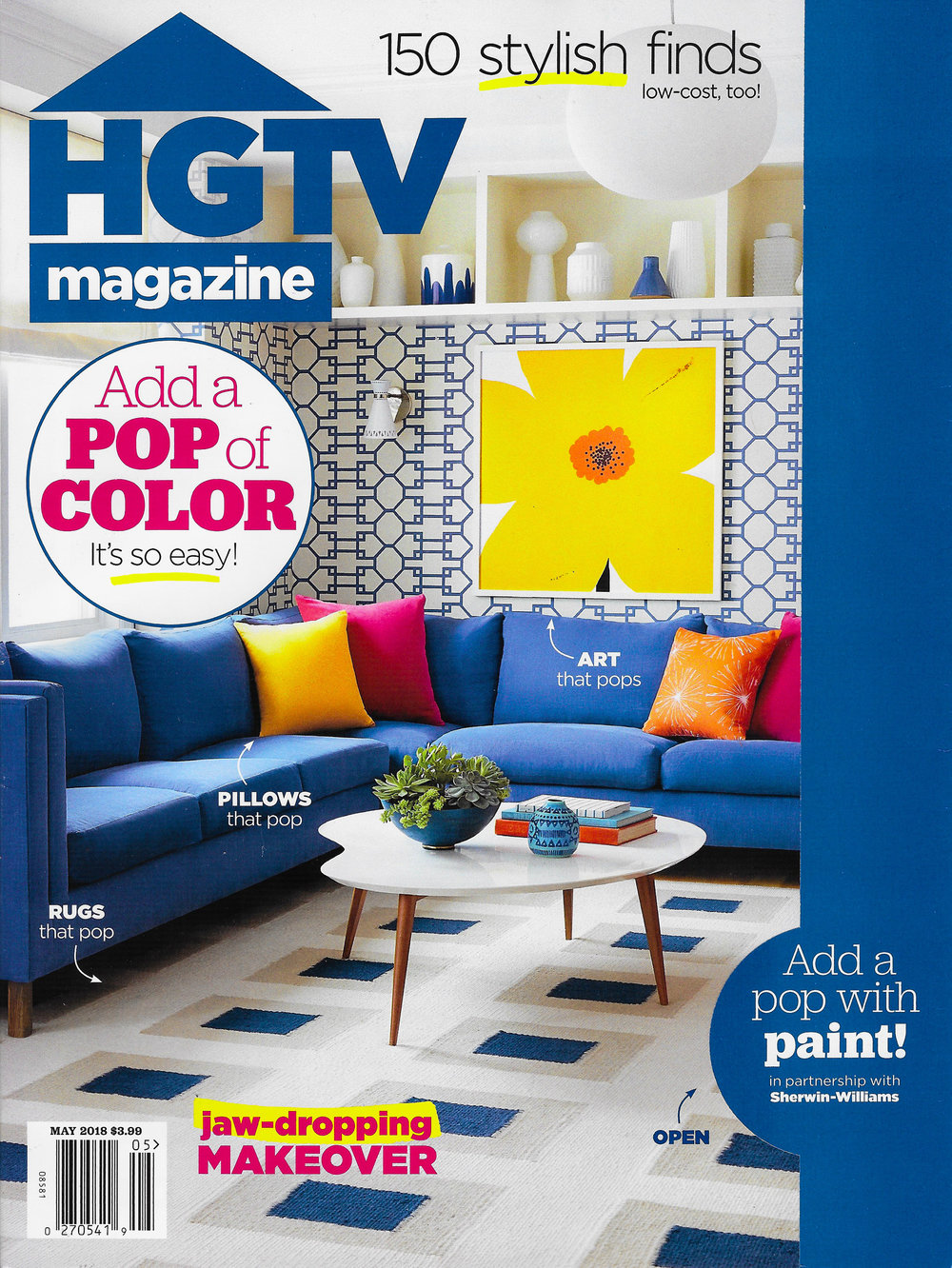 COVER - HGTV Magazine - May 2018