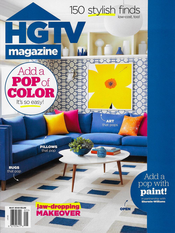 COVER - HGTV Magazine - May 2018