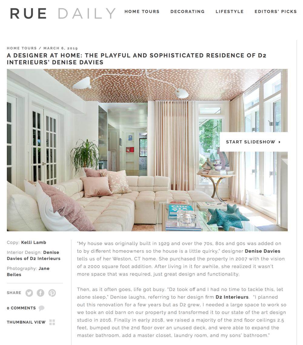 Rue Magazine - March 2019