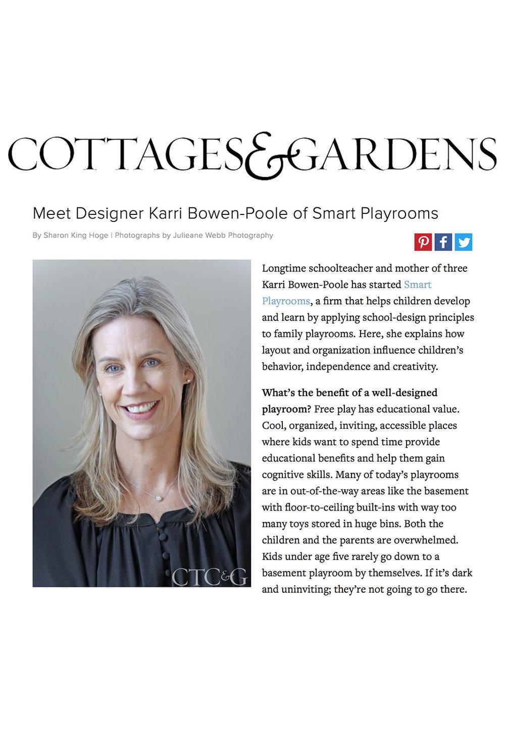 CT Cottages & Gardens - April 2016
