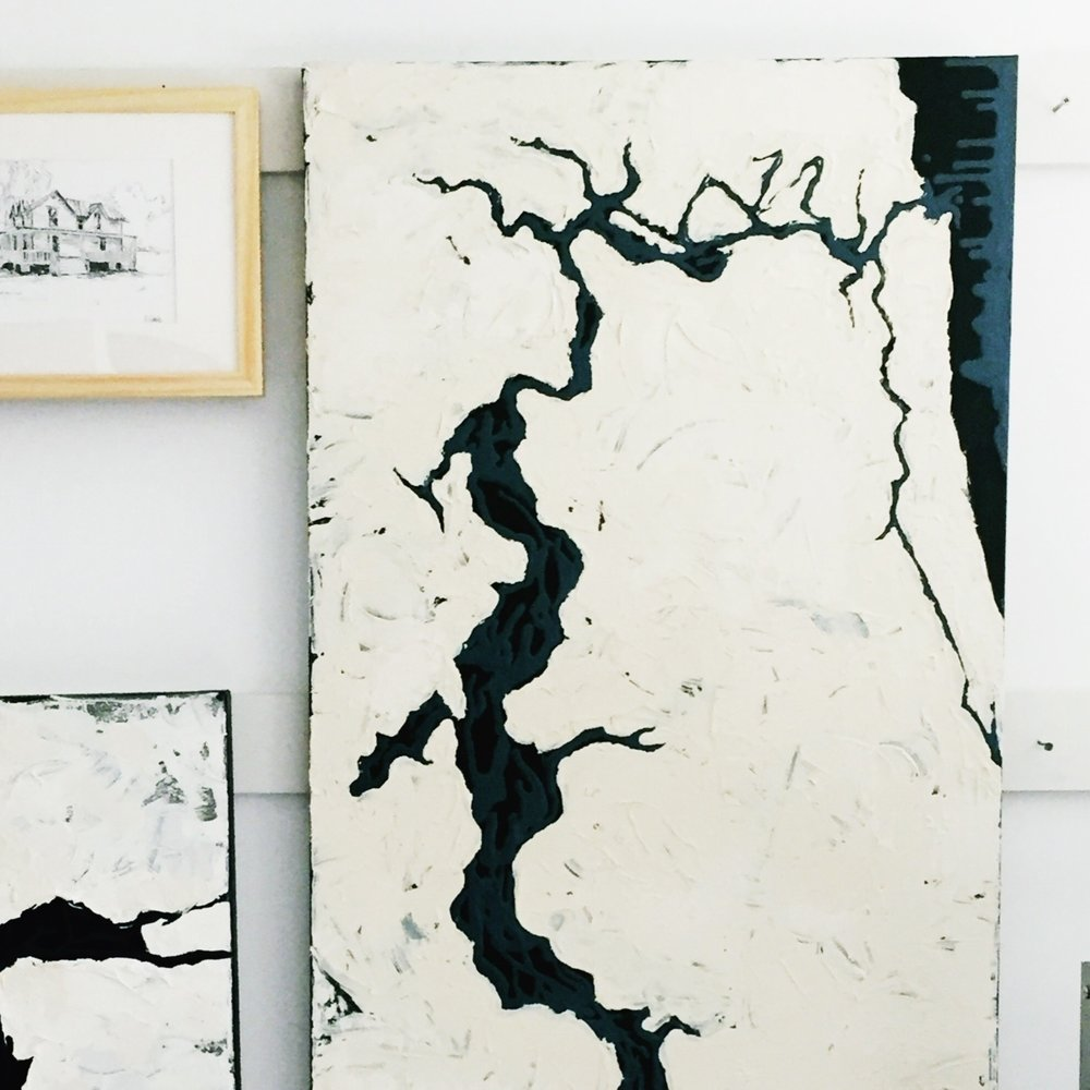 RIVERS - (organic abstracts)