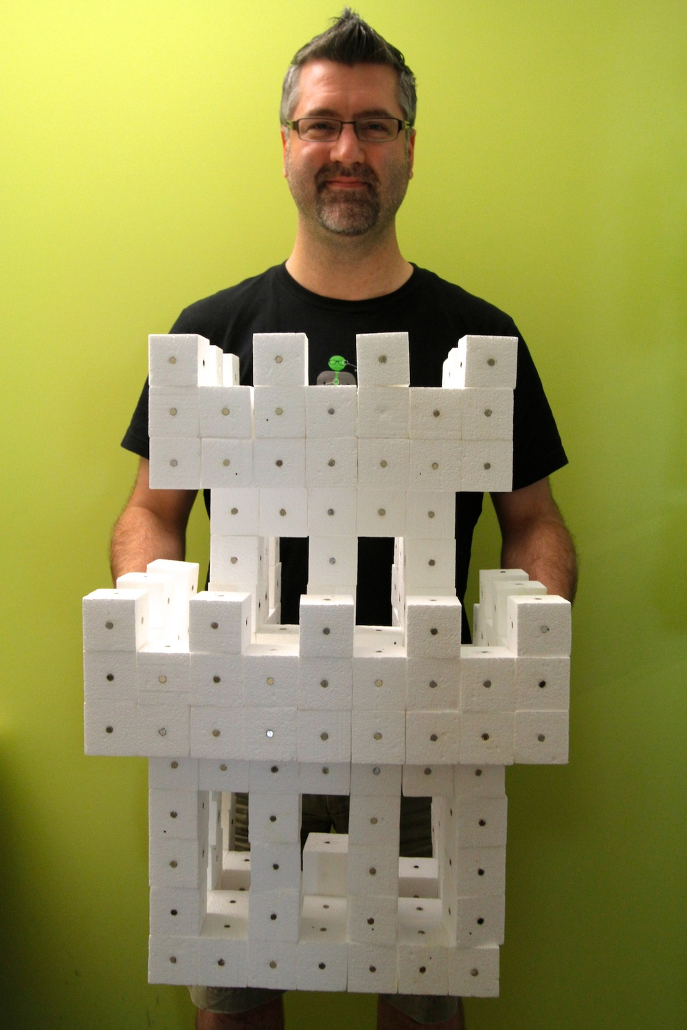 @nickf with his castle