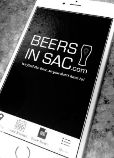 Free Beers In Sac App, Available On iPhone & Android.