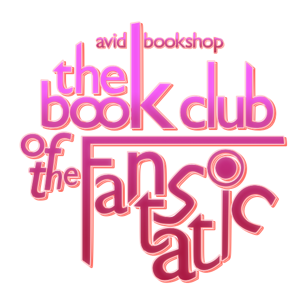 Logo - Book Club of the Fantastic (Neon Futurity)    Pixelmator   I think it's usually best to focus on designing something so that it is clear and identifiable in a single color. Even if a logo is printed in black and white, in must be legible. Then, perhaps, you can play with more complex color ideas.  This is my first major foray into customizing letter shapes. I started with Gill Sans, did the basic arrangement of the letters, and then converted everything into vectors. By adjusting the points of the letters a bit at a time, I was pleased to be able to make things fit together in interesting and unique ways.