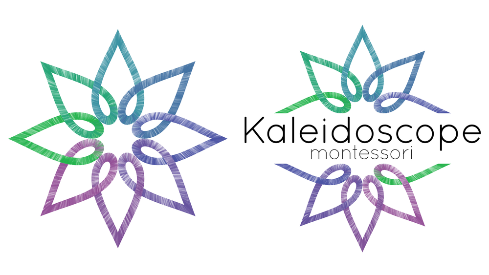 Kaleidoscope Montessori Identity    Photoshop, Illustrator.   Logo and identity for a Montessori school in Athens, GA. Balancing organization and peace with a sense of fun and hands-on learning. Custom geometric pattern filled with hand-drawn colored pencil.  Fall 2015.