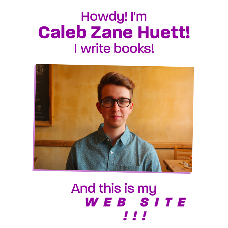 "Caleb Zane Huett  Site    Anime.js, Sketch, Pug, Stylus   Responsive promotional site for middle grade author Caleb Zane Huett. We worked together to implement his vision of a site that he hoped would be a modern version of the ""classically-bad website."" The goal was to communicate his humor and warmth as succinctly as possible, while generating interest in his forthcoming book  Top Elf.  (I've read early drafts; it's funny!) I used modern web animation techniques to evoke the sort of brokenness associated with late-90s personal sites. If it looks broken, we did it on purpose! There are things that happen when you click, text you can reveal by highlighting, and various other silly things. We laughed a lot while making this!  View the  live site here ."