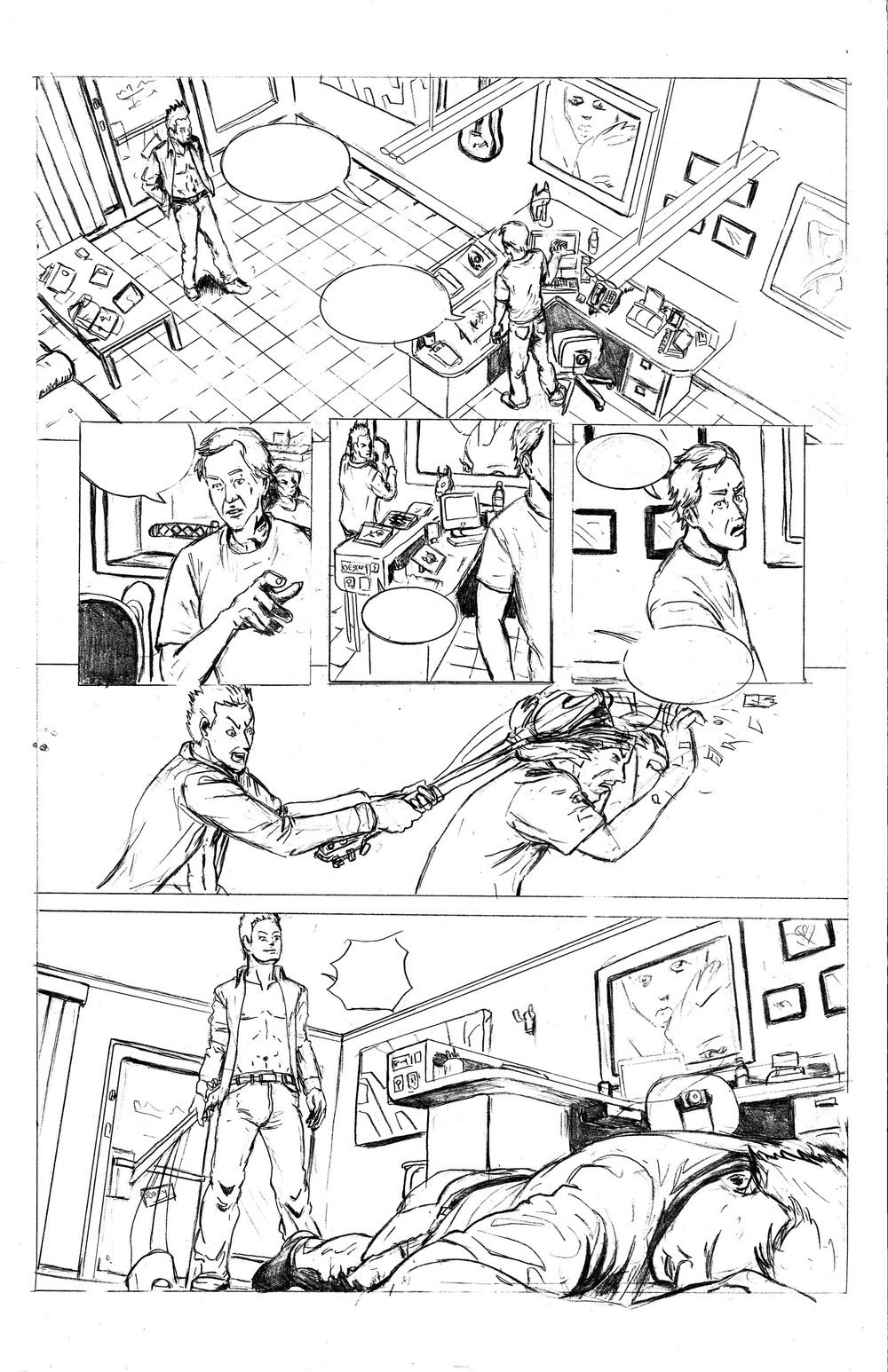 Tattoo Parlor Attack Page 3 Pencils.jpg