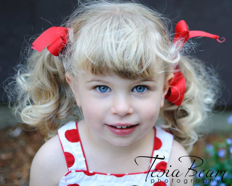 Cute girl with pigtails (c)Tesiabeamphotography.com