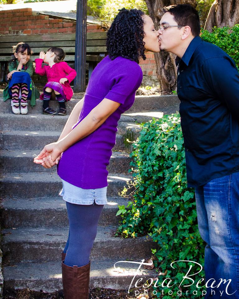 An anniversary kiss (c)Tesiabeamphotography.com