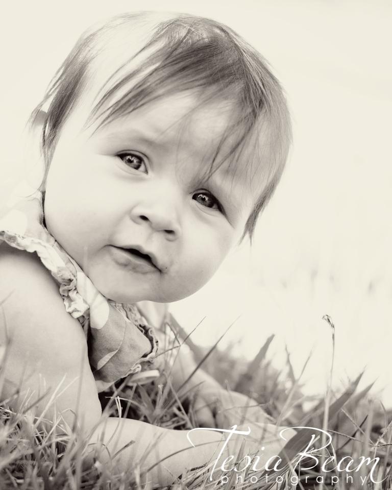 Sepia baby face (c)Tesiabeamphotography.com