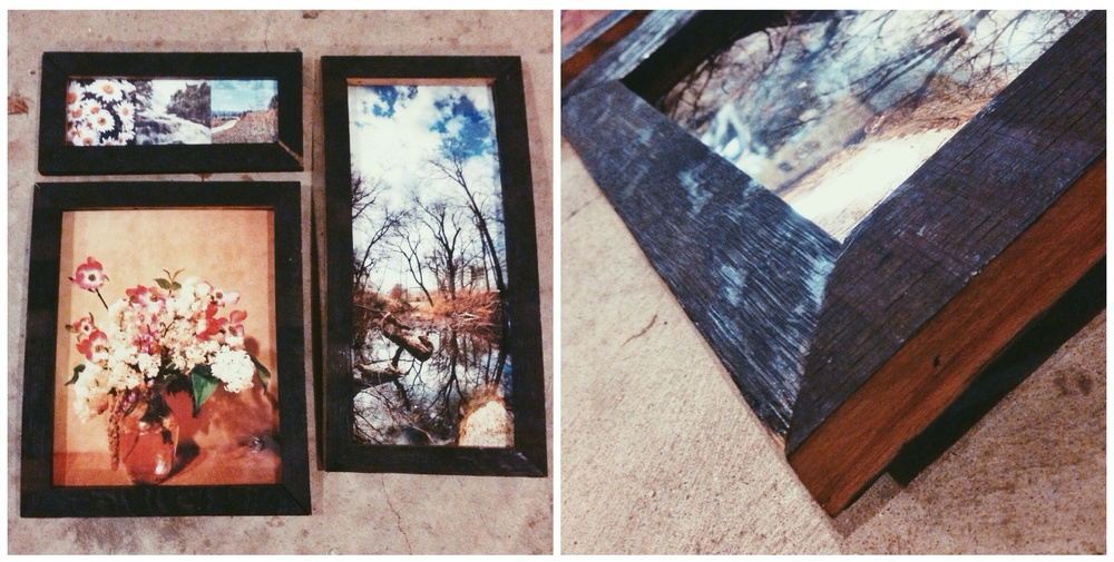 750four's Contribution to the Botanica Fundraiser: Three photographic pieces by  Thomas Johns  including custom-made frames built with authentic Jim Beam bourbon barrel staves donated by the fine wood artisans of Louisville's own Cohen Wood.