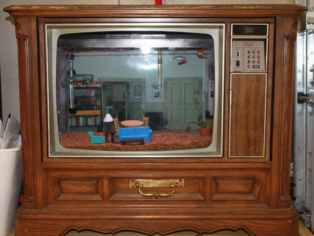 Seinfeld TV Aquarium