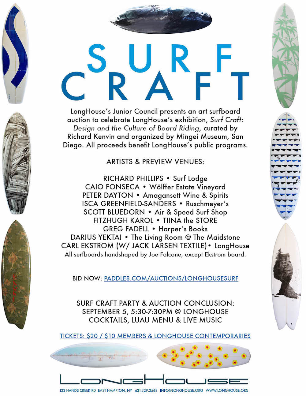 Surf Craft Auction