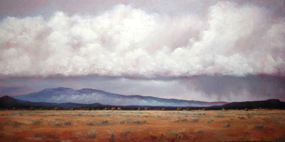 Rainfall Over Galisteo