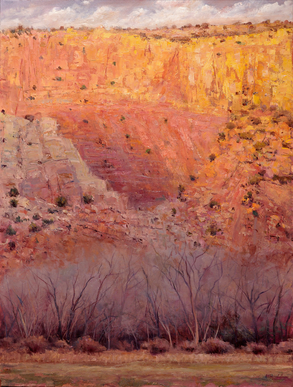 Ghost Ranch Canyon Series II
