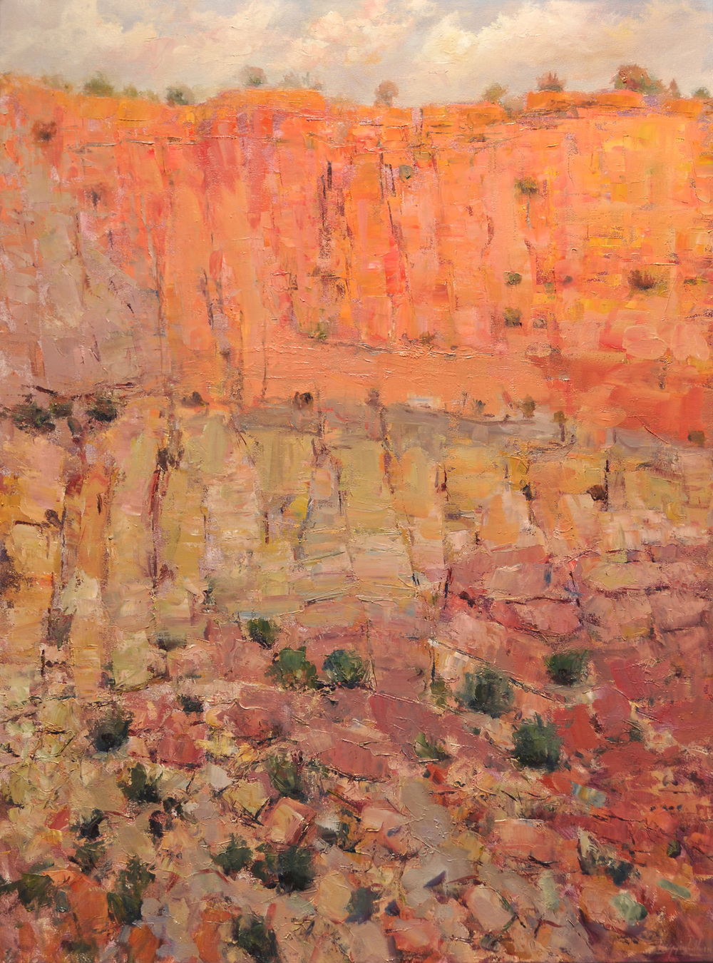 Ghost Ranch Canyon Series IV
