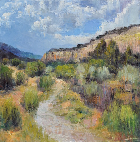 Chana Canyon  oil on canvas  24x24