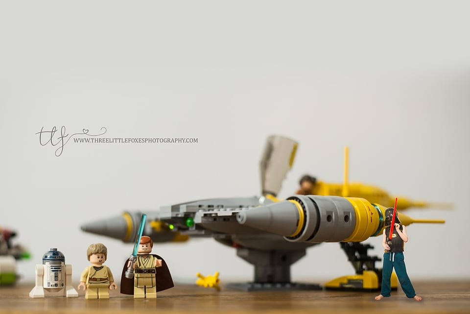 "My own ""New"" image - my little dude loves his new Star Wars toys! =)"