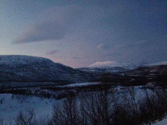 Pyhä tunturi Norjassa, Rastigaisa.