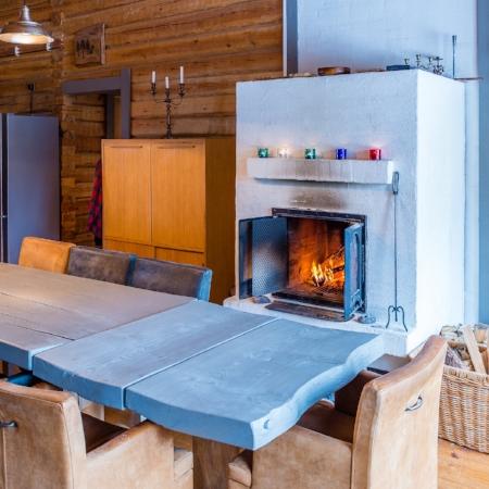 Råmossa Lodge, Log House