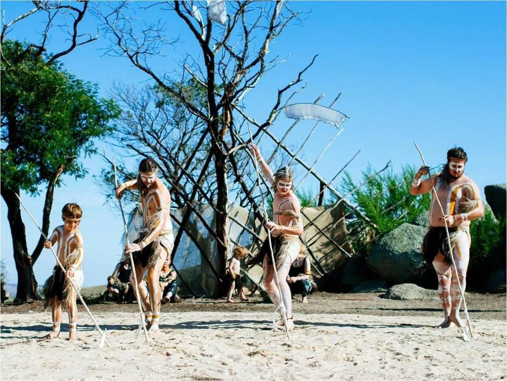 Dancers: Wadawurrung Dancers; Photographer: Ed Sloane
