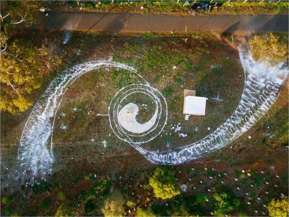 Circle Artist: Simon Macaulay; Photographer: Jarrod Boord